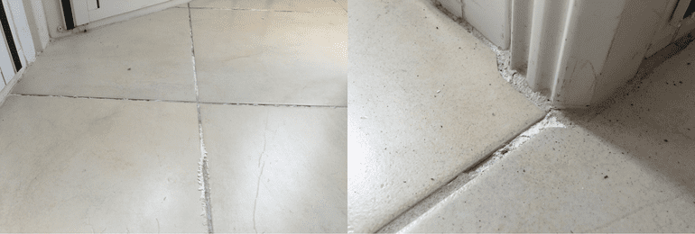 Slab Edge Dampness from the inside